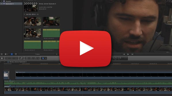 [VIDEO TUTORIAL] Editing The Brody Jenner Show With Final Cut Pro X 10.1.2